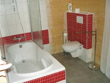 Mosaikarbeiten im Bad
