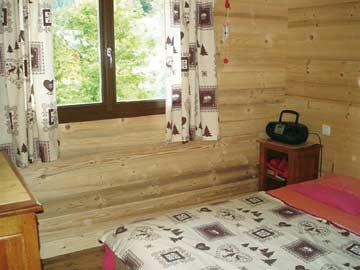 Schlafzimmer im alpenländischen Stil