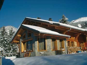 Ferienhaus in den Portes du Soleil - weitere Winteransicht