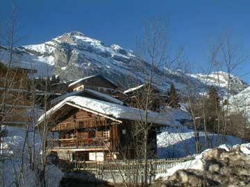 Hütte Le Grand Bornand im Massif des Aravis
