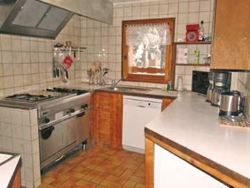 Hütte Samoens - Küche
