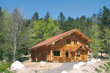 Sonnige Lage des Ferienhauses La Bresse