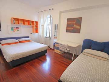 Schlafzimmer 3 - Doppel- und Einzelbett