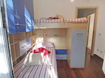 Schlafzimmer 2 - Einzel- und Hochbett