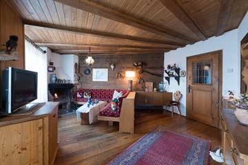 Ferienhaus Südtirol Meran 2000 - das Wohnzimmer