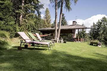 das Ferienhaus Südtirol Meran 2000 im Sommer
