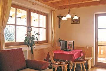 eine der Wohnküchen der drei Ferienwohnungen