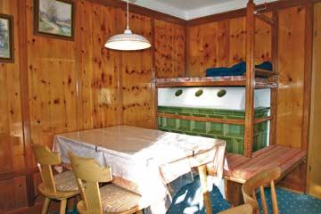 Ferienhaus Meransen - die gemütliche Bauernstube im EG