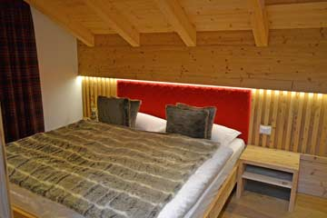 Schlafzimmer im DG