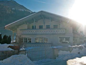 Ferienhaus Luttach in der Morgensonne
