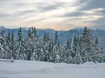 Aussicht im Winter