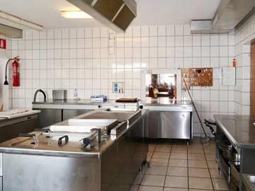 Gastronomie-Küche
