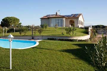 Luxus Ferienhaus Toskana mit Pool