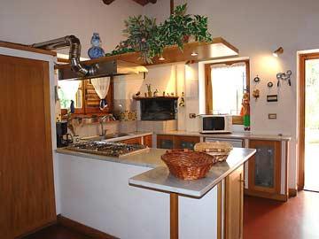 Esszimmer mit Küche