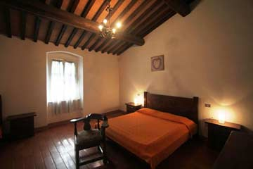 Fewo 4: Schlafzimmer mit Doppelbett