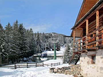 Skihütte Sella Ronda: Beste Lift-/Pistenlage direkt an der SellaRonda