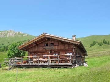 Traumhütte mit Sauna mitten im Ski- und Wandergebiet Alpe Lusia