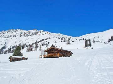 weitere Impressionen im Winter der Skihütte Alpe Lusia
