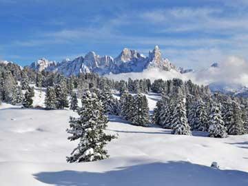 herrliches Dolomitenpanorama