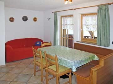 Wohnküche in Hausteil 1