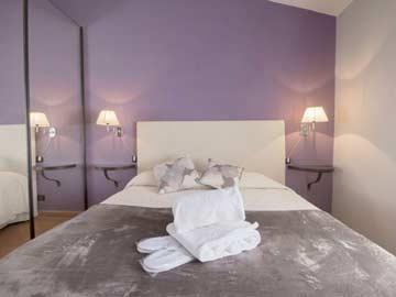 Schlafzimmer 3 - Doppelzimmer im 1. OG