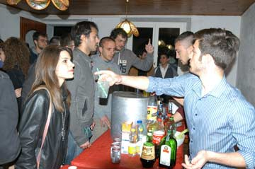 Party am Lago Trasimeno
