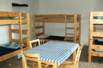 Mehrbett-Zimmer im OG mit Etagenbetten