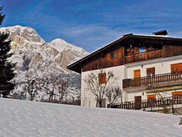 Ferienwohnung in Cortina d'Ampezzo im Winter