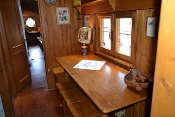 Sitzplatz bei der Küche