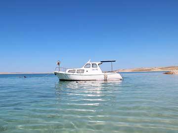 Boot des Besitzers (mietbar)