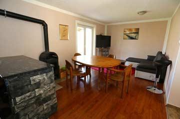 Wohnzimmer mit Schwedenofen
