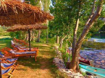 herrlicher Badeplatz bei Muskovci