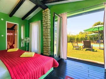 Schlafzimmer 3 im Bungalow 3