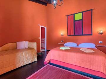 Schlafzimmer 4 im Bungalow 4