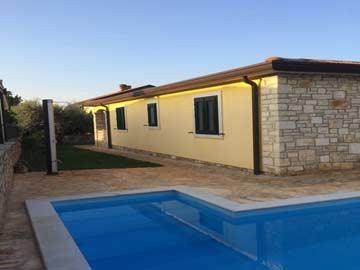 Ferienhaus in mediterranem Stil mit privatem Pool in Tar