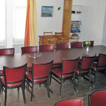 Speiseplatz für 27 Personen