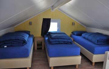 3-Bett-Zimmer auf der Galerie