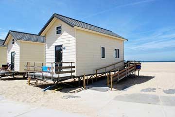 Behindertengerechtes Strandhaus in Vrouwenpolder