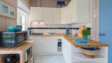 Moderne Küchenausstattung