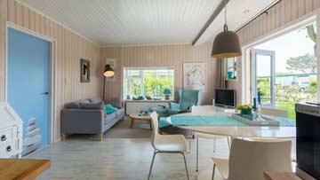 Terrassenzugang im Wohnzimmer