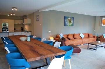 Speise- und Wohnzimmer