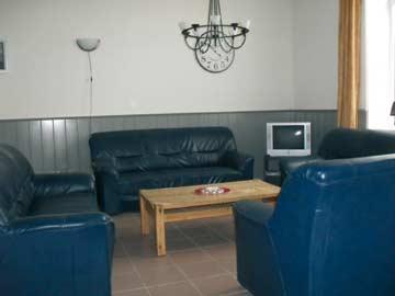 TV-Ecke im Wohnzimmer