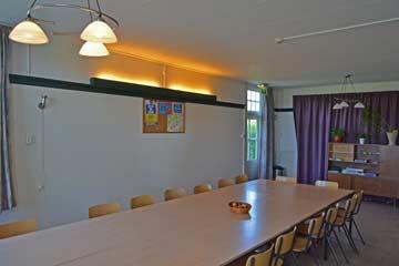 Ess- und Aufenthaltsraum im Gruppenhaus Oostkapelle