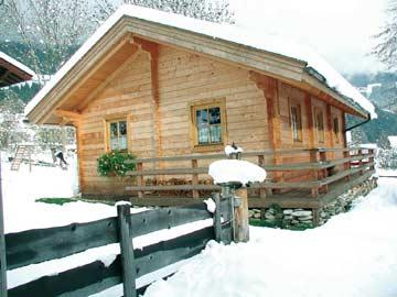 Ferienhaus Mölltal im Winter