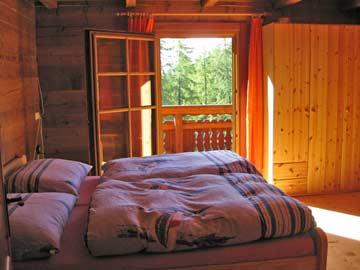 eines der 3-Bett-Zimmer