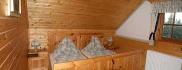 Weiterer Blick in das Schlafzimmer
