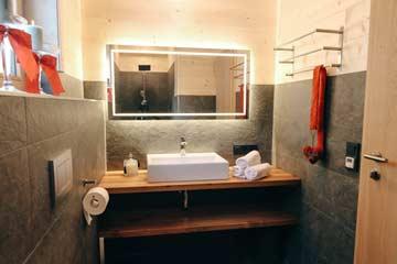 Moderne Sanitäreinrichtung