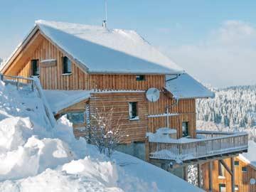 Ferienhaus am Klippitztörl nahe an den Pisten mit Sauna und Whirlpool