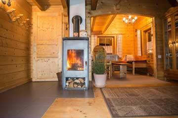Ferienhaus Flattach - angenehme Wohnatmosphäre durch Bio-Holzbauweise