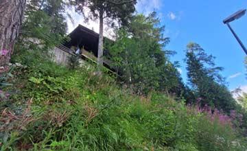 Hütte Nassfeld (durch die Hanglage sehr schwer zu fotografieren)